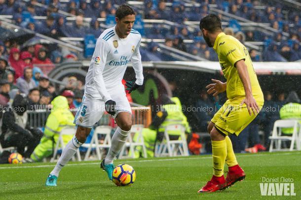 Varane en el partido del sábado pasado | Foto: Daniel Nieto (VAVEL)