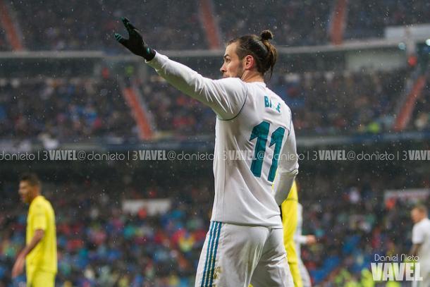 Bale durante el partido I Foto: Daniel Nieto (VAVEL)