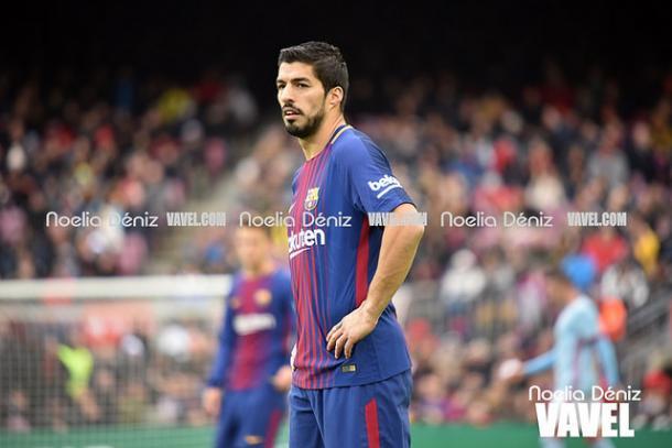 Luis Suárez, en un encuentro ante el Celta | Foto: Noelia Déniz - VAVEL