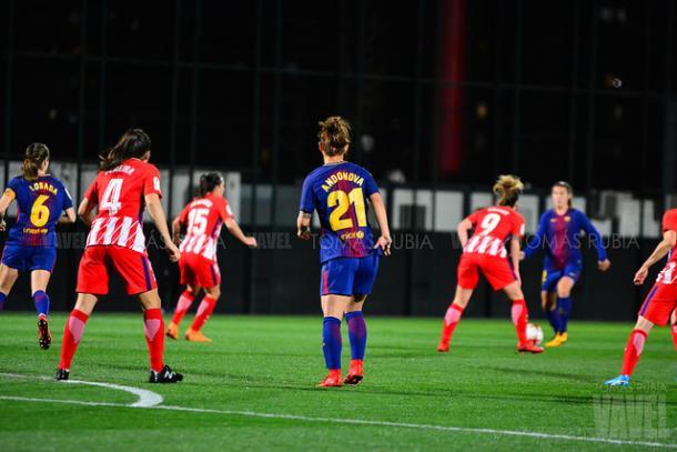 FC Barcelona vs Atlético | Foto: Tomás Rubia - VAVEL