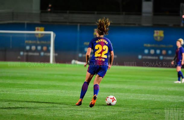 Lieke Martens, jugadora del FC Barcelona | Foto: Tomás Rubia - VAVEL
