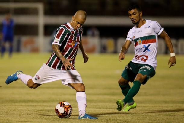 Marcos Junior já atuou como meia em 2015 (Foto:  Lucas Merçon/Fluminense FC)