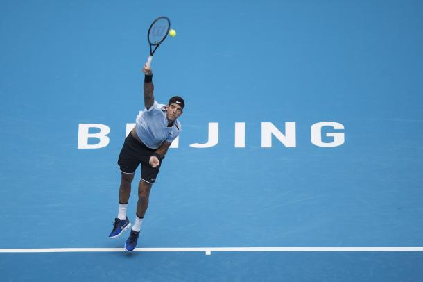 Juan Martin del Potro is the top seed in Beijing this week. Photo: China Open