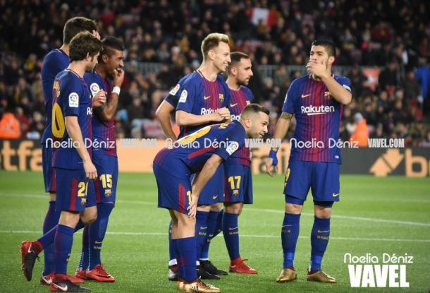 El FC Barcelona, casi imparable en el Camp Nou | Foto: Noelia Déniz, VAVEL