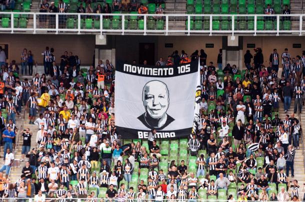Belmiro foi homenageado pela torcida do Galo (Foto: Divulgação/Centim Vicentim)