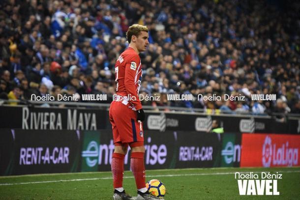 Griezmann segue no Atlético