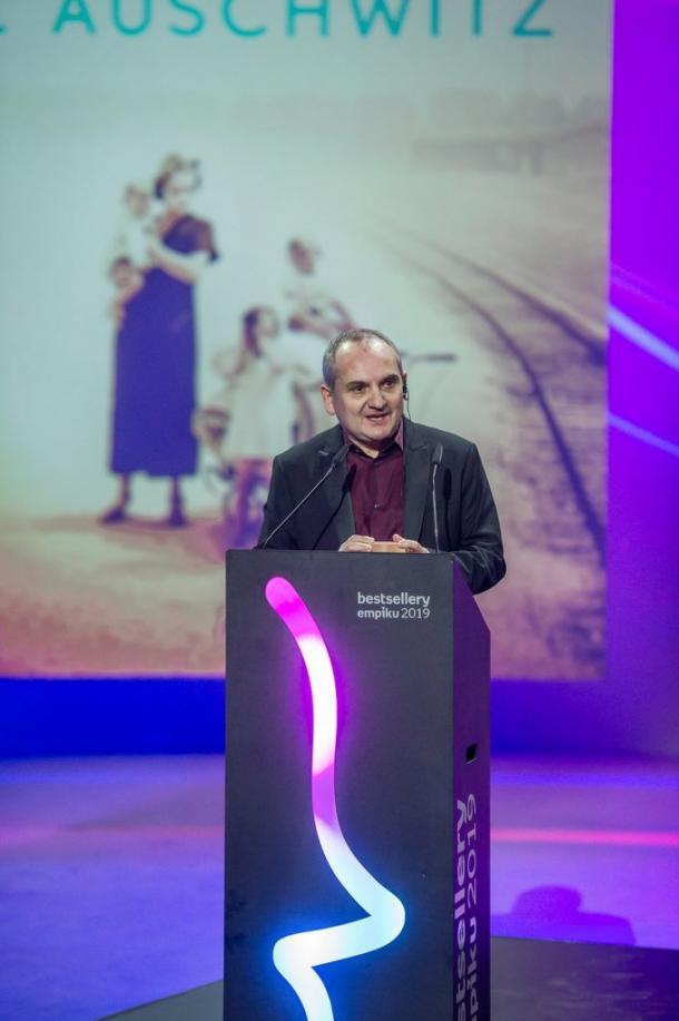 Mario Escobar en los Premios Empik 2020 | Foto: marioescobar.es