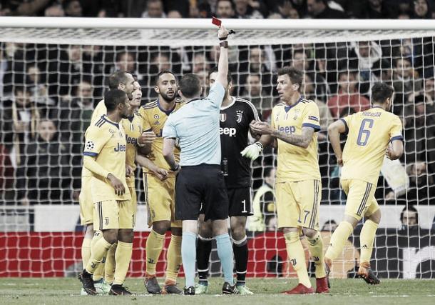 Buffon se va expulsado | Foto: Real Madrid C.F.