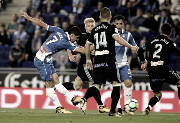Partido de la primera vuelta entre Espanyol y Celta. Foto: RCD Espanyol