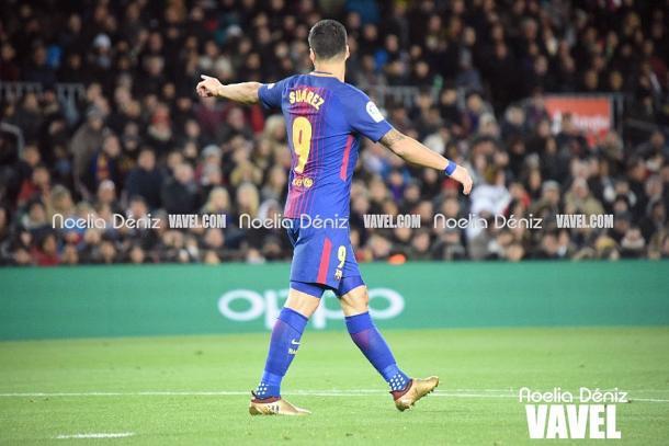 Luis Suárez anotó un doblete y dio una asistencia | Foto: Noelia Déniz, VAVEL
