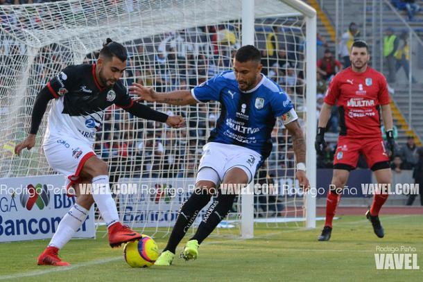 Amaury Escoto durante el duelo ante Querétaro I Foto: Rodrigo Peña VAVEL