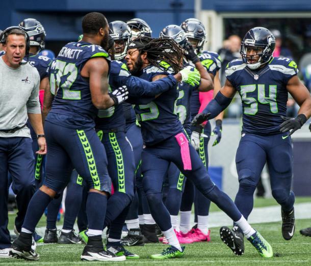 Sherman contro Richard, nella Week 6. Fonte Immagine: theseattletimes.com