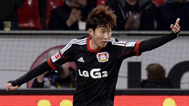 Son vuelve al BayArena dos temporadas después. | Foto: Bundesliga.com