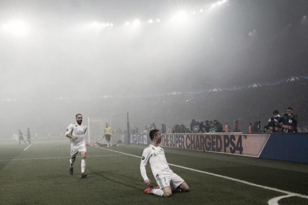 Nuevamente CR7, clave ante el PSG | Foto: Real Madrid C.F.