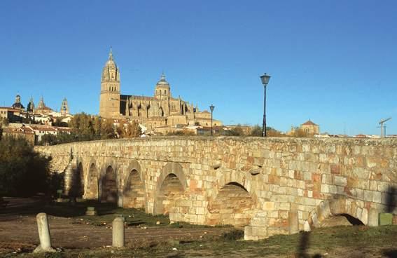 Puente romano sobre el Tormes (Imagen: Turismo de Castilla y León)