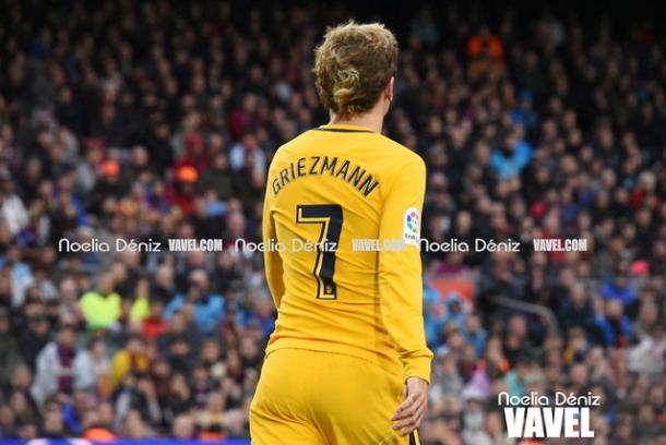 Griezmann en el Barcelona - Atlético de la pasada temporada | Foto: Noelia Déniz (VAVEL)
