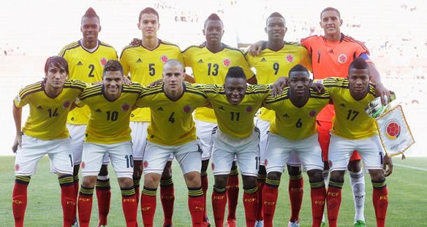 Titulares selección Colombia frente a Australia I Foto: FIFA