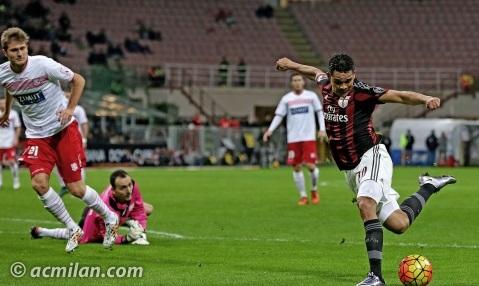 Milan Carpi Coppa Italia
