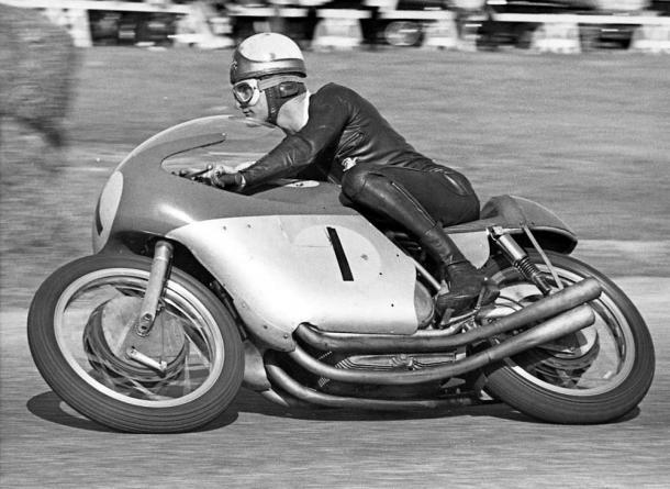 MV Agusta y Mike Hailwood dominaron durante cuatro años en la categoría de 500cc. Foto: Pinterest