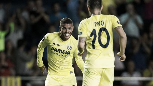 Pato y Dos Santos, una dupla letal ante el FC Zürich | Foto: web oficial del Villarreal CF