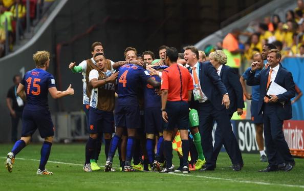Holanda foi terceira colocada na Copa de 2014 (Foto: Jamie McDonald/Getty Images)