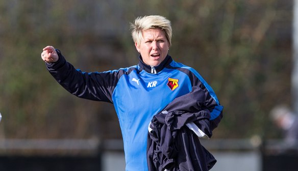 Rowson's time in the Watford dugout is over | Photo: watford.fawsl.com