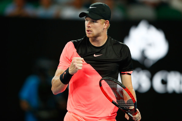 Kyle Edmund leaped in the rankings after his semifinal run in Melbourne. Photo: Michael Dodge/Getty Images