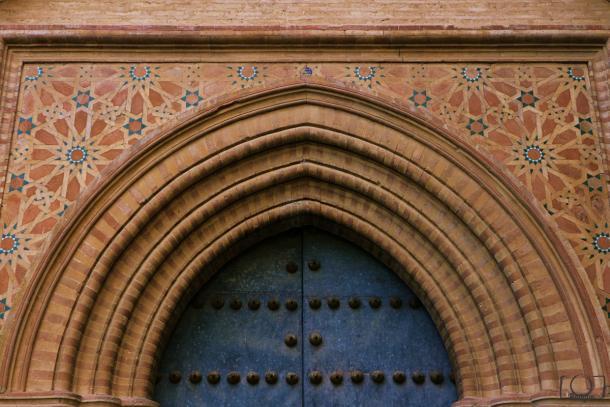 Puerta de entrada Monasterio San Isidoro del Campo.  Foto: Fran Rodgue