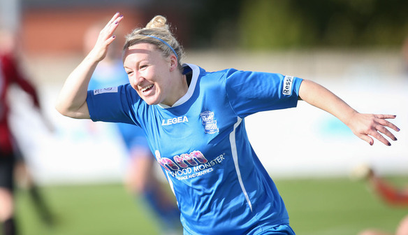 Chelsea Weston for Birmingham | Photo source: Birmingham City Ladies
