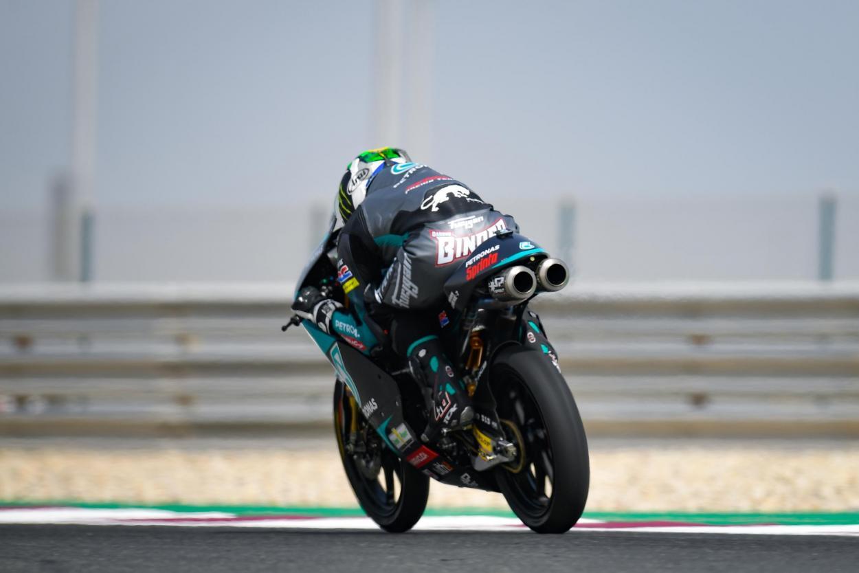 Binder no conseguía mejorar su marca. Imagen: MotoGP