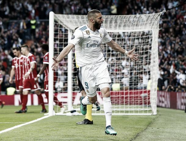 Benzema era el encargado de los goles en la vuelta | Foto: Real Madrid C.F.