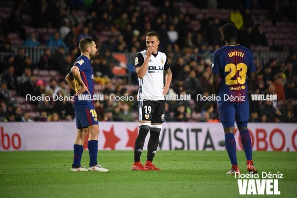 Rodrigo es uno de los favoritos para ocupar la punta de ataque de la selección. | Foto: Noelia Déniz (VAVEL)