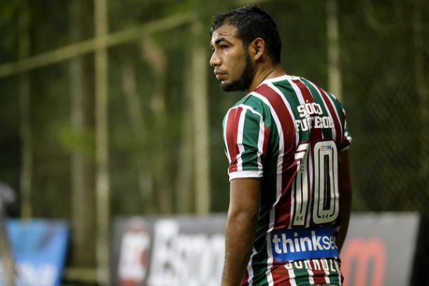Sornoza ainda não teve boas atuações no ano (Foto: Divulgação/Fluminense FC)