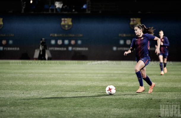 Lieke Martens contra el Atlético de Madrid | Foto de Tomás Rubia, VAVEL