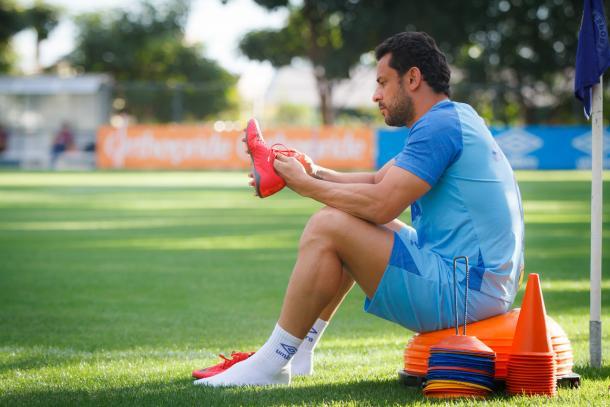 Fred está há 16 partidas sem balançar as redes (Foto: Vinnicius Silva/Cruzeiro)