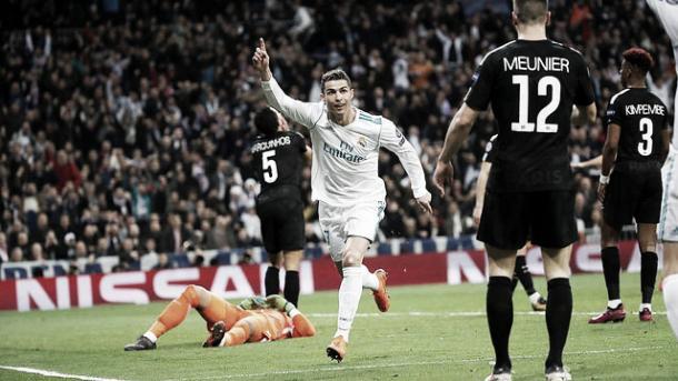 Cristiano daba la ventaja ante PSG | Foto: Real Madrid C.F.