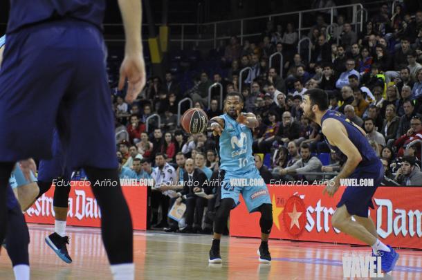 El inicio fulgurante de Estudiantes marcó el partido. | Fotografía: Eduardo Ariño (VAVEL.com)