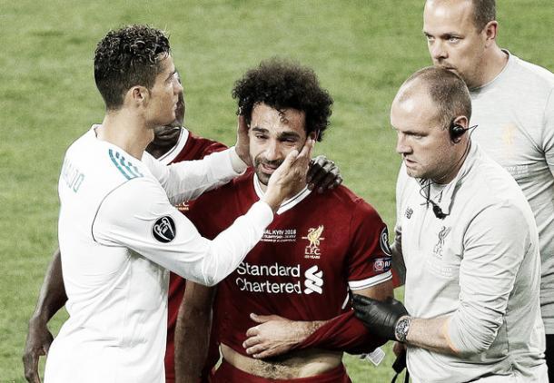 La lesión inesperada de Salah | Foto: Real Madrid C.F.