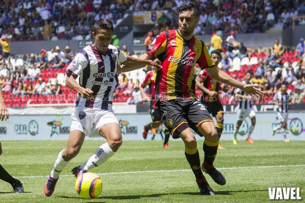 (Néstor Vidrio jugó los 90 minutos | Foto: Fabián Meza / VAVEL)