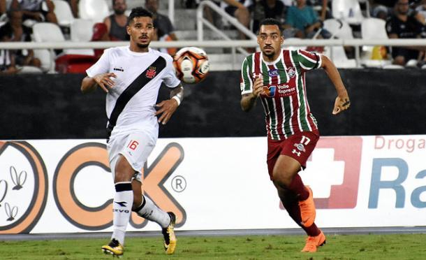 Robinho não entrou bem contra o Vasco (Foto: Mailson Santana/Fluminense FC)