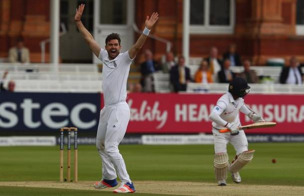 James Anderson appeals successfully against Kaushal Silva | Photo: getty