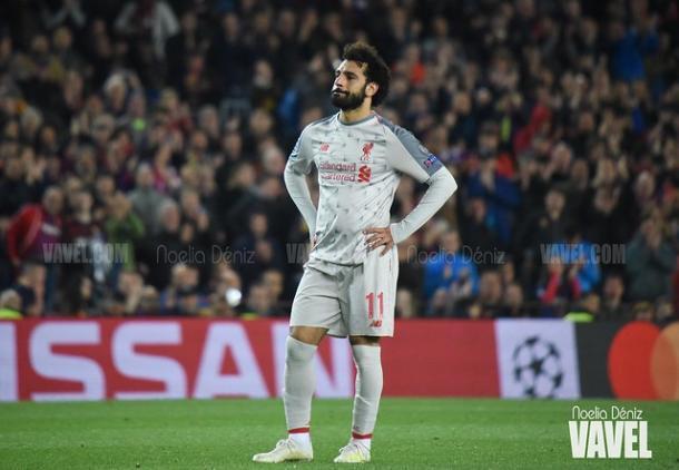 Mohamed Salah, jugador del Liverpool. FOTO: Noelia Déniz