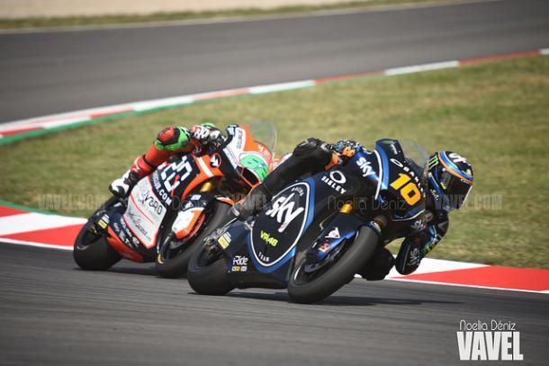 Luca Marini ha sido tercero. | Foto: Noelia Déniz VAVEL