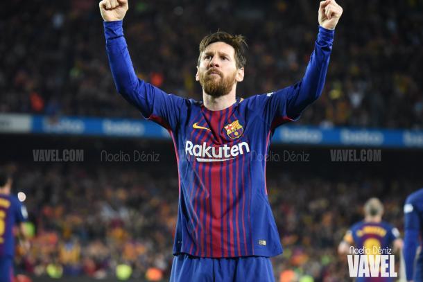 Leo Messi, máximo artillero del Fútbol Club Barcelona | Foto de Noelia Déniz, VAVEL
