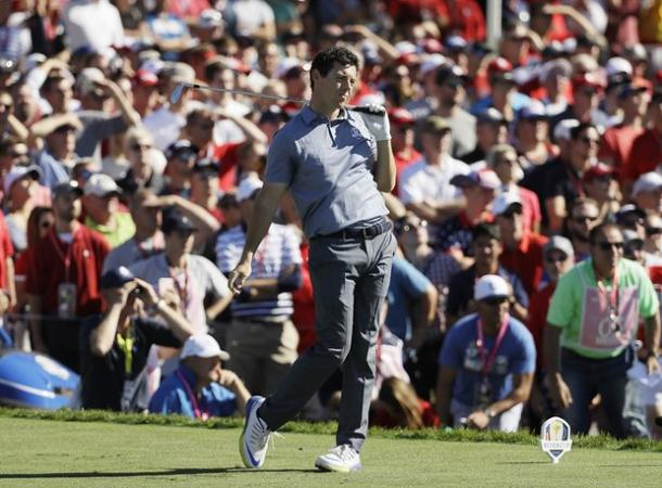 McIlory endured a torrid back nine (photo: The Guardian)