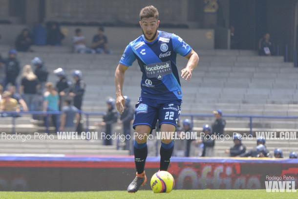 Lucas Cavallini durante el partido ante Pumas | Foto: Rodrigo Peña VAVEL