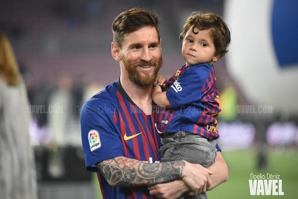 El Barcelona celebra en el Camp Nou un nuevo título de Liga Santander   Foto: Noelia Déniz - VAVEL