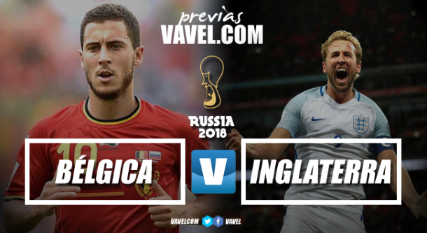 Bélgica vs Inglaterra | Fotomontaje: Dani Souto (VAVEL)