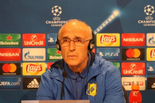 Ivan Daniliants was an assistant under Kurban Berdyev. | Photo: FC Rostov