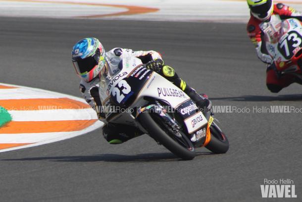 Raúl Fernández, líder de Moto3 | Foto: Rocío Hellín - VAVEL